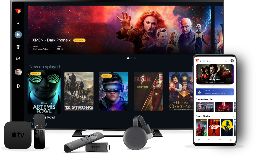 OTT Streaming Platform